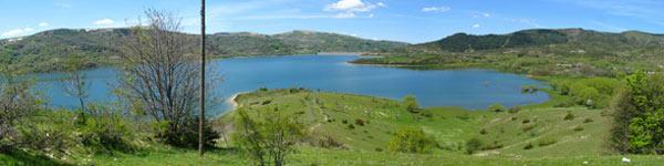Itinerario lago di campotosto